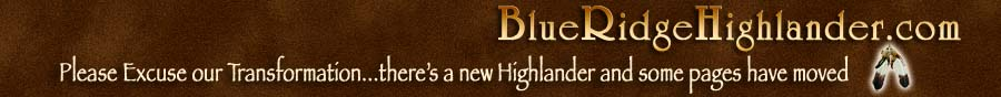 The New Blue Ridge Highlander