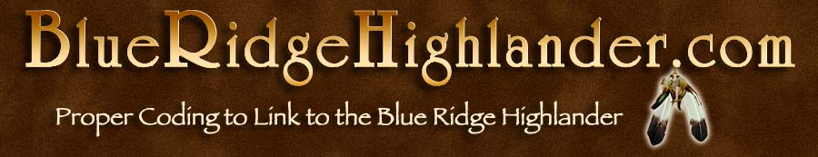 Link to the Blue Ridge Highlander online magazine about the Blue Ridge and Smoky Mountains