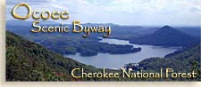 Ocoee Scenic Byway in the Tennessee River Valley