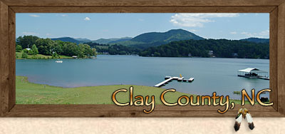 Hayesville, Brasstown and Warne in Clay County in the Western North Carolina Mountains