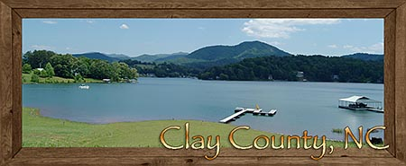 Hayesville, Brasstown and Warne in Clay County in the North Carolina Mountains