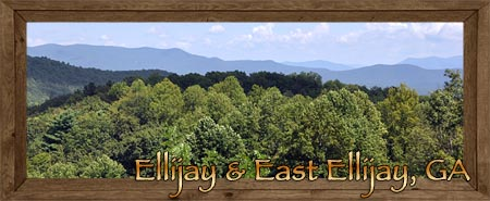 Ellijay & East Ellijay in Gilmer County Georgia