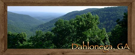 Dalonega in Lumpkin County Georgia
