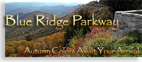 Blue Ridge Parkway in the Fall