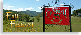 John C. Campbell Folk School Fall Festival