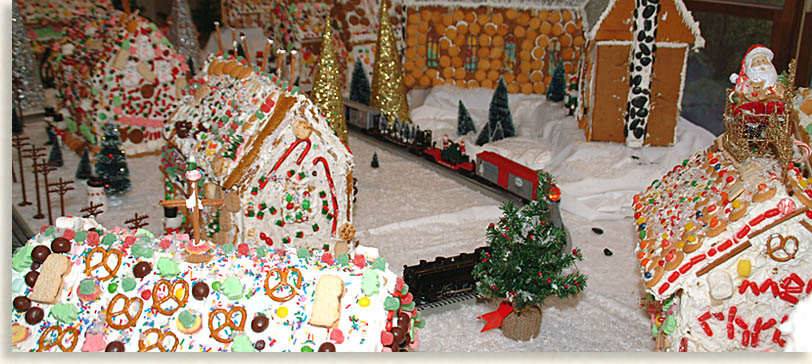 Gingerbread Village created by Children