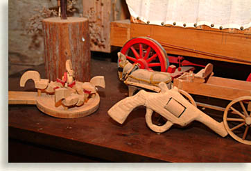 Wooden Guns and Chickens