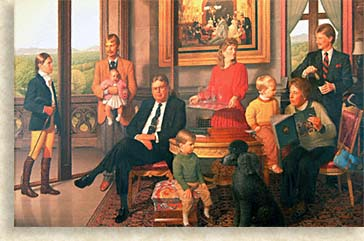 Cecil Family, decendants of George and Edit Vanderbilt