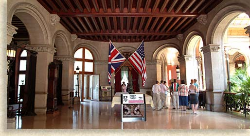 Entrance Hall at Biltmore House
