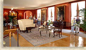 Upstairs Living Hall at Biltmore House
