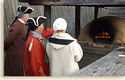 Preparing for Christmas Feast at Fort Loudoun