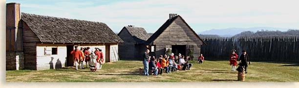Congregation gathers at Fort Loudoun