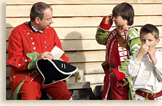 no Santa at Fort Loudoun