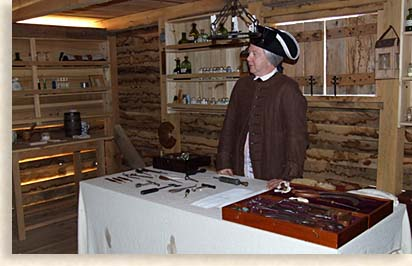 Physcian at Fort Loudoun