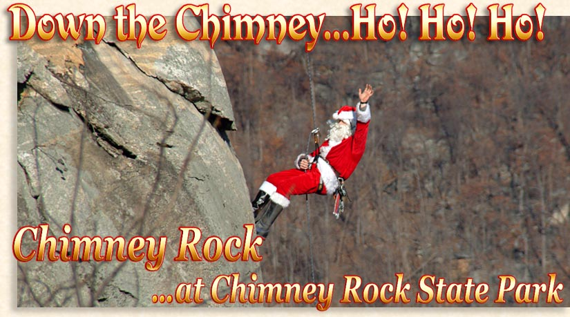 Down the Chimney...Ho! Ho! Ho!