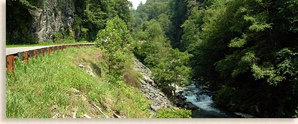 Upper Nantahala River Gorge