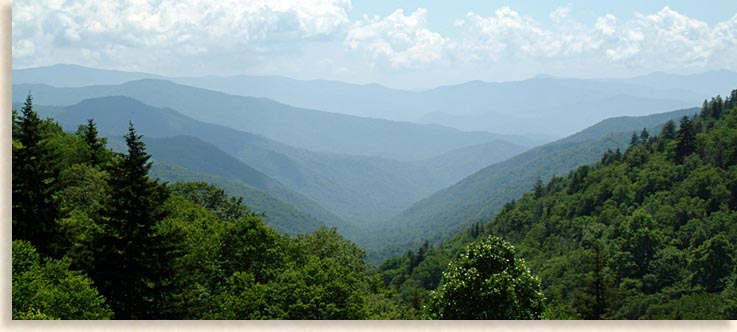 Great Smoky Mountains of North Carolina and Tennessee