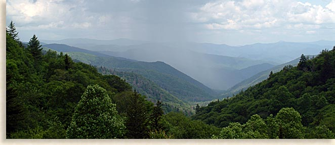 Great Smoky Mountains Rains