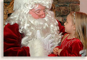 Santa Claus at The Grove Park Inn, Asheville, North Carolina