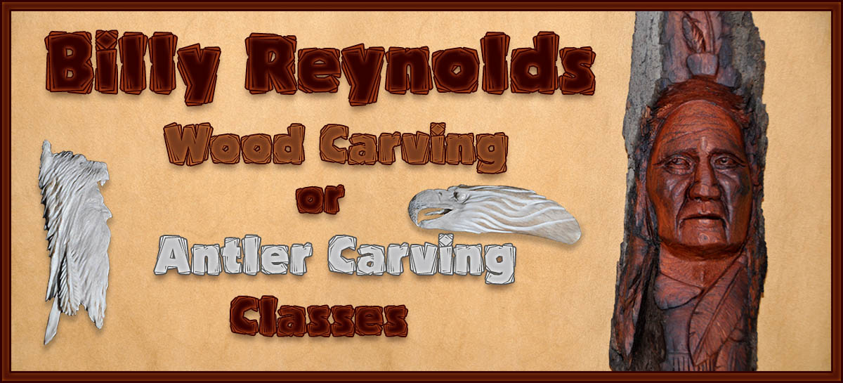 Billy Reynold's Carving Class
