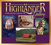Highlander Gallery in the Historic Brasstown Creamery