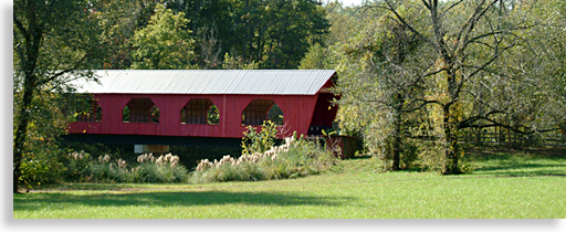 Covered Bridge in Rutherford County