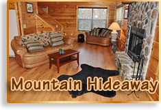 Mountain Hideaway Cabin Rental