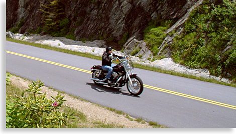 Blue Ridge Parkway Motorcycle Tour