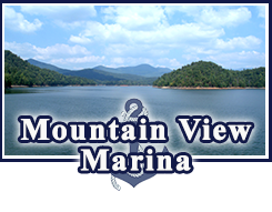 Mountain View Marina at Bear Paw Resort in Murphy North Carolina