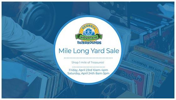Georgia Mountain Yard Sale