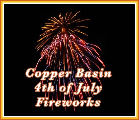 Copper Basin Fireworks