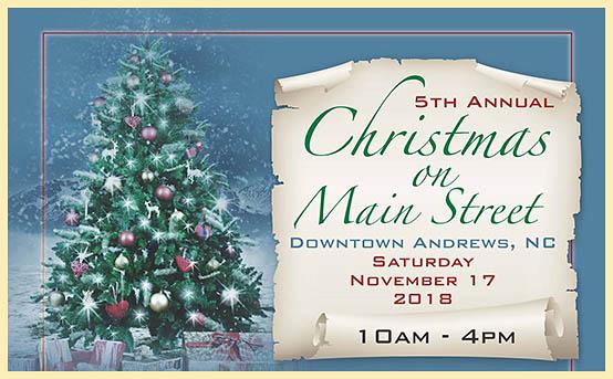 Andrews NC - 5th Annual Christmas on Main Street