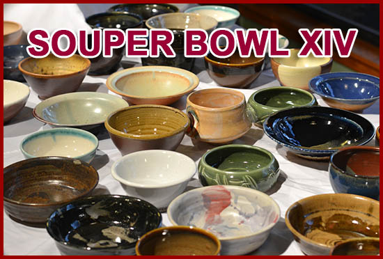 Arrowmont School of Arts & Crafts Souper Bowl XIV