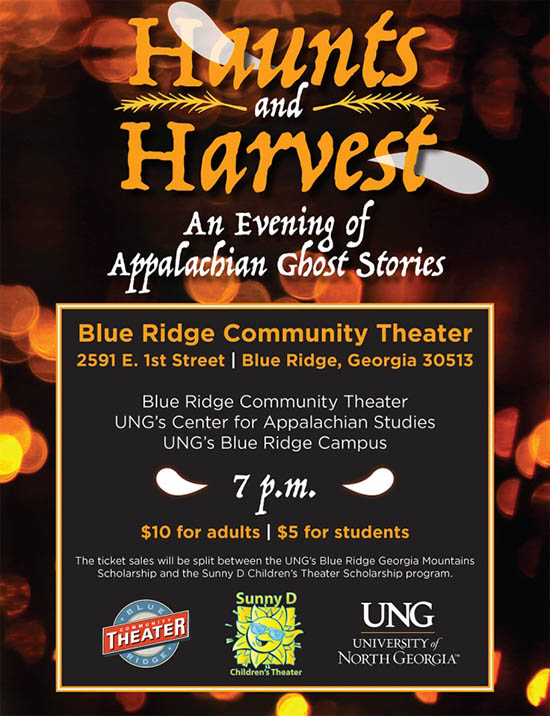 Haunts & Harvest: An Evening of Appalachian Ghost Stories