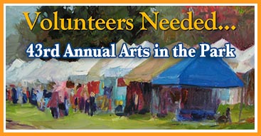 The Art Center needs Volunteers
