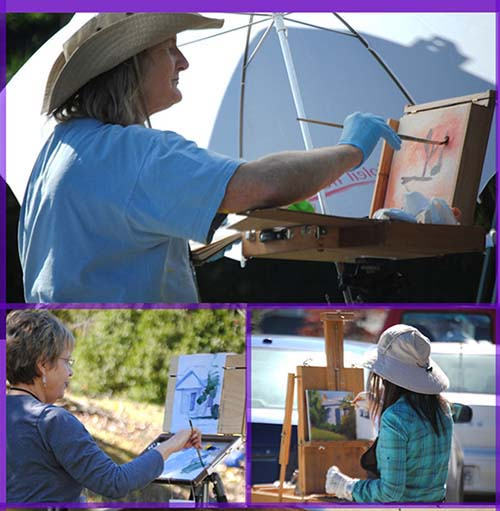 Fall Plein Air International Paint-Out