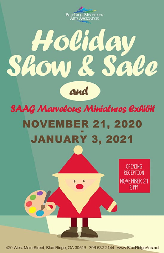 BRMAA holiday sale