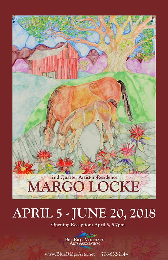Margo Locke at Blue Ridge Mountain Arts Association
