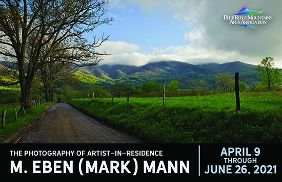 Mark Mann at Blue Ridge Mountain Arts Association