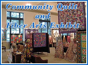 The Art Centere Community Quilt and Fiber Arts Exhibit
