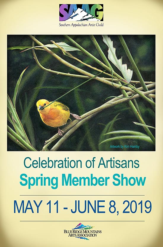 Spring Members Show at Blue Ridge Mountain Arts Association