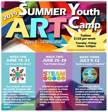 Summer Youth Camp at the Art Center