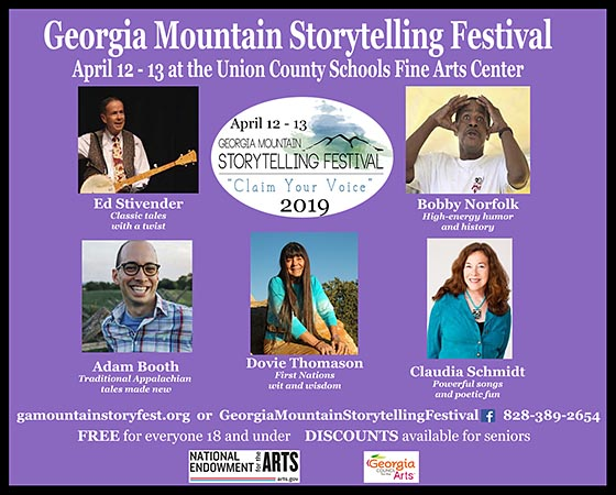 Georgia Mountain Storytelling Festival