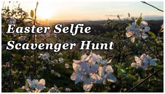 Merciers Easter Selfie Scavenger Hunt