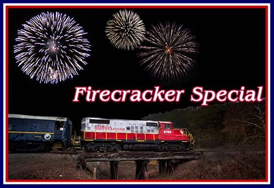 Blue Ridge Scenic 4th of July Train