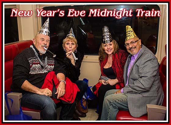 Blue Ridge Scenic New Year's Eve Midnight Express