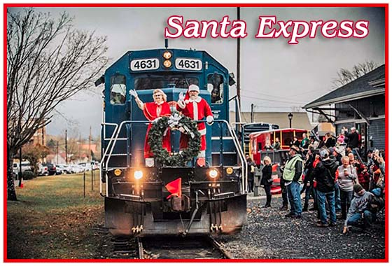 Blue Ridge Scenic Santa Express