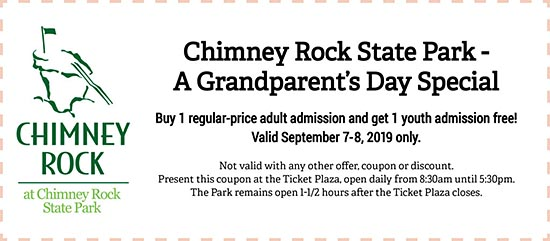 Grandparent's day coupon
