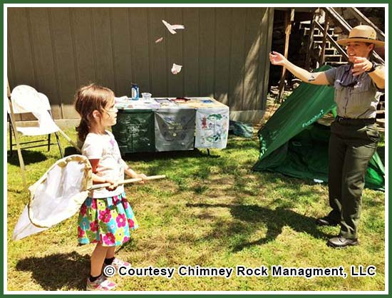 Chimney Rock Earth Day