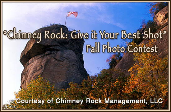 Chimney Rock Fall Photo Contest